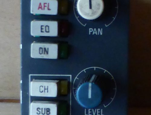 NEVE 5106/5116 PAN LEVEL MODULES