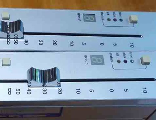 SSL SL978 MOTORISED FADERS X 2