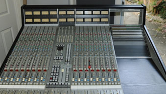 Mini Neve and SSL consoles