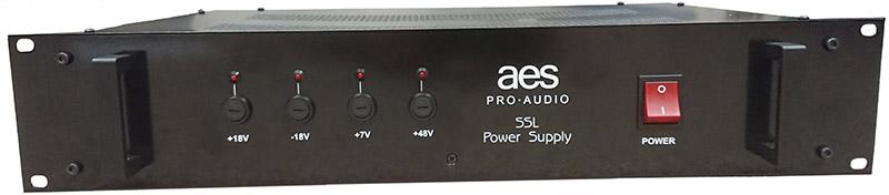 Malcolm Toft designed SSL Power supply