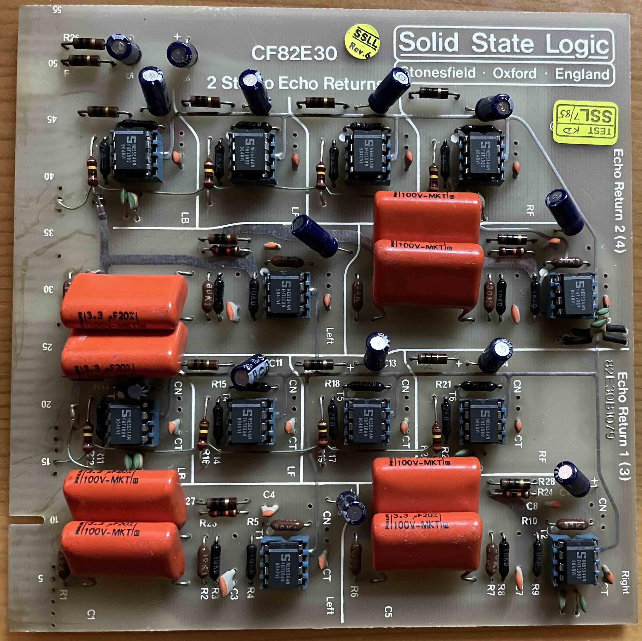 SSL Card CF82E30